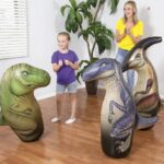 Puching Bag Punch Inflable Dino Bestway