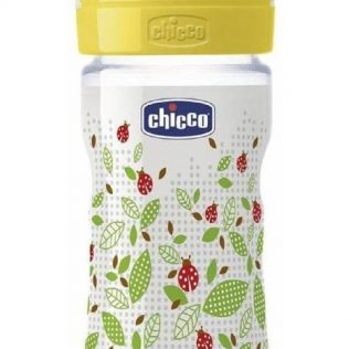 Mamadera Chicco Wellbeing 250ml 2m+