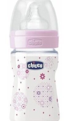Mamadera Wellbeing 150ml 0+ Chicco
